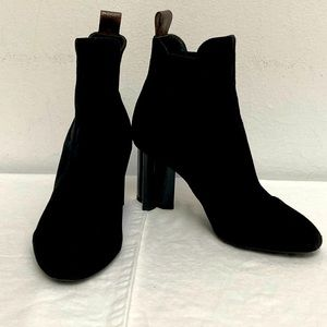 Louis Vuitton Silhouette Suede Boots